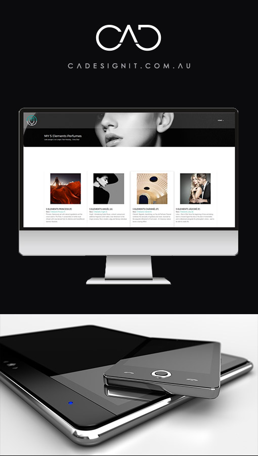 BEAUTIFUL WEBSITES BY CADESIGNIT
