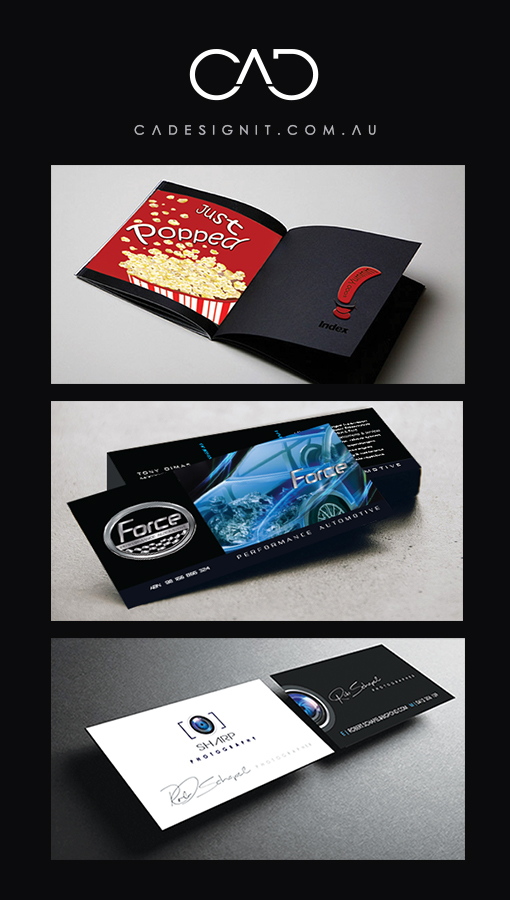 GRAPHIC DESIGN . BUSINESS CARDS . LOGO BY CADESIGNIT